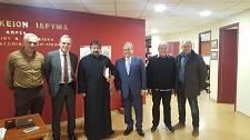 Επίσκεψη του Μητροπολίτη Ζάμπιας στο Μανιατάκειον Ίδρυμα στην Αθήνα