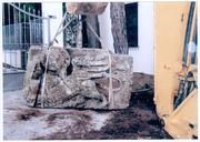 Ανασύρθηκε το «Λιοντάρι του Αγίου Μάρκου», σύμβολο της Βενετίας, από την είσοδο