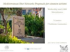 Πραγματοποίηση Τηλεδιάσκεψης του Δικτύου για τη Μεσογειακή Διατροφή για την Ανάληψη Κοινών Δράσεων