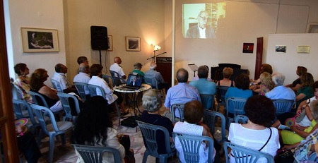 Εκδήλωση Στο Μανιατάκειον Ίδρυμα Στην Κορώνη Εις Μνήμην Του Ανδρέα Ριζιώτη