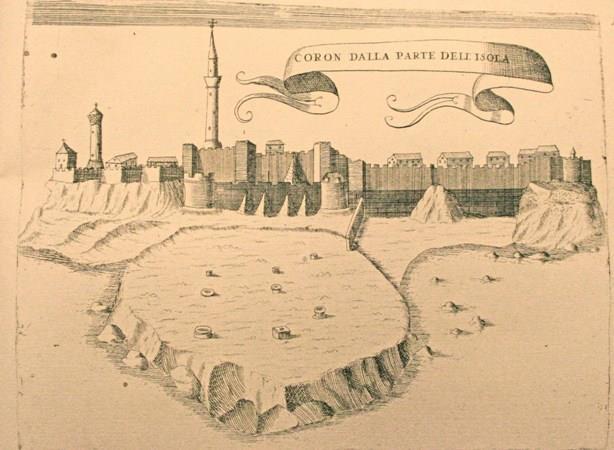 """""""Coron Dalla Parte Dell' isola"""", 1687"""
