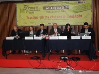 Ομιλία Της Βίκυς Ιγγλέζου Διευθύντριας Του Μανιατακείου Ιδρύματος Σε Ημερίδα Για Το Ελληνικό Ελαιόλαδο