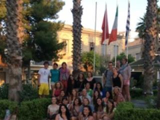 Δράσεις Διεθνοποίησης Της Μεσογειακής Διατροφής Στην Κορώνη Από Το Μανιατάκειον Ίδρυμα Με Τη Συνεργασία Του College Year In Athens