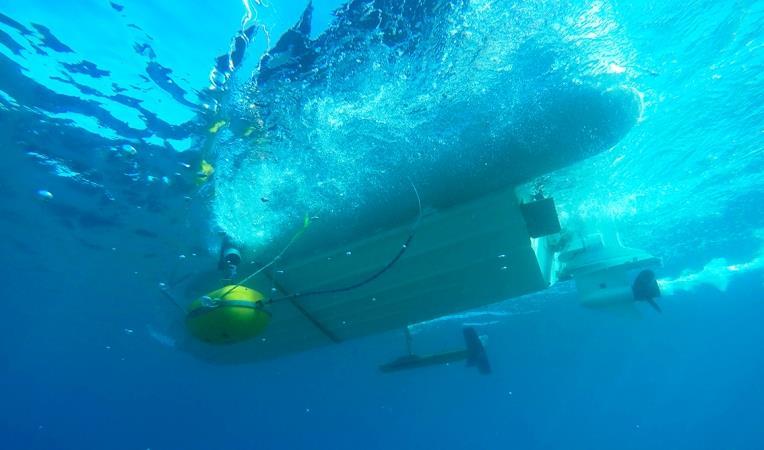 Τα γεωφυσικά όργανα προσαρμοσμένα στο σκάφος της ΕΕΑ