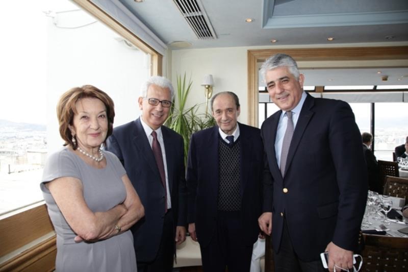 κα Α. Τριχοπούλου, κ. Γ. Μέργος, κ. Α. Κωστάκης, κ. Δ. Καφαντάρης