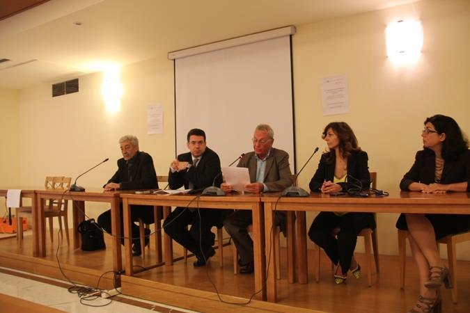 Στο κέντρο ο Υφυπουργός Αγροτικής Ανάπτυξης και Τροφίμων ο κ. Π. Σγουρίδης