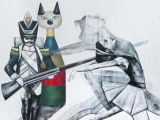 Έκθεση Ζωγραφικής: Μαριάννα Κατσουλίδη: «Animus - Anima(l)»