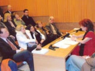 Oμιλία Tης Ελένης Ταγωνίδη-Μανιατάκη, Αντιπρόεδρο Tου Μανιατακείου Ιδρύματος, Που Πραγματοποιήθηκε Στο Μουσείο Μπενάκη