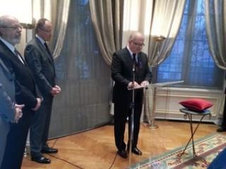 Απονομή Του Ανώτατου Τίτλου Τιμής Της Γαλλικής Δημοκρατίας Στον Κορωναίο Νικόλαο Γ. Γεωργαράκη