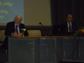 Ομιλία του Δημήτρη Μανιατάκη Προέδρου του Μανιατακείου Ιδρύματος σε εκδήλωση για τη Μεσογειακή Διατροφή