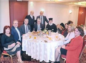 Κοπή Πρωτοχρονιάτικης Πίττας στην Αθήνα του Συνδέσμου  των απανταχού Κορωναίων «Παναγία η Ελεήστρια»